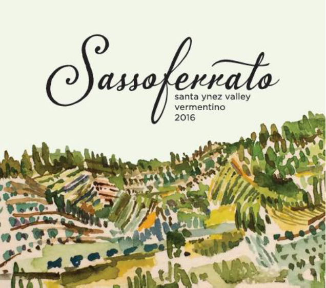 2016 Sassoferrato by Matt Smith Santa Ynez Valley Vermentino