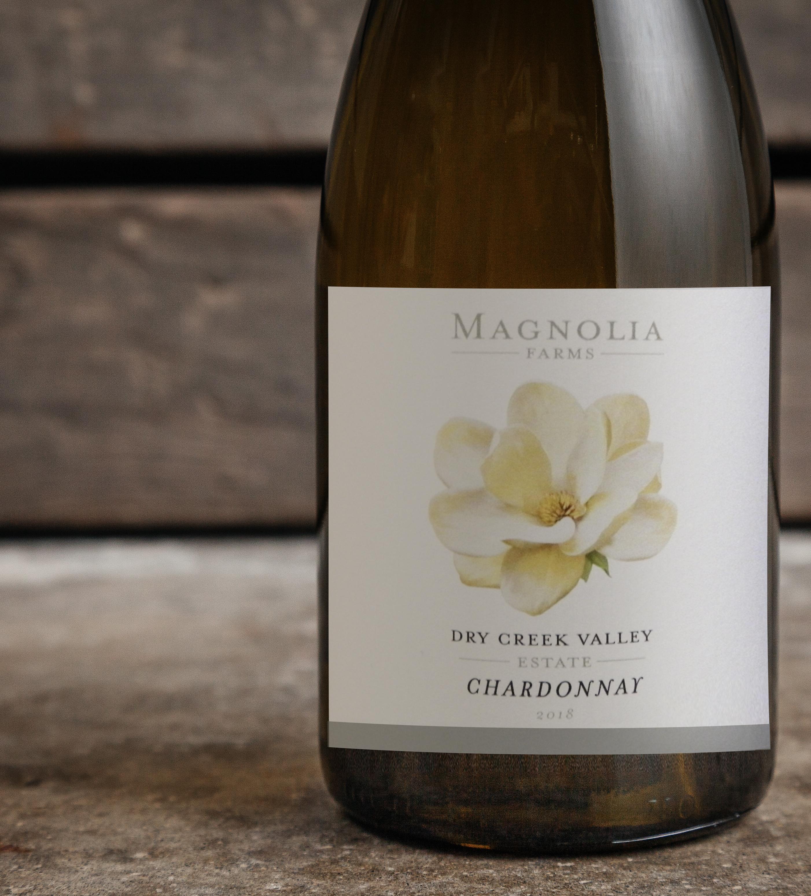 2018 Magnolia Farms Estate Dry Creek Valley Chardonnay