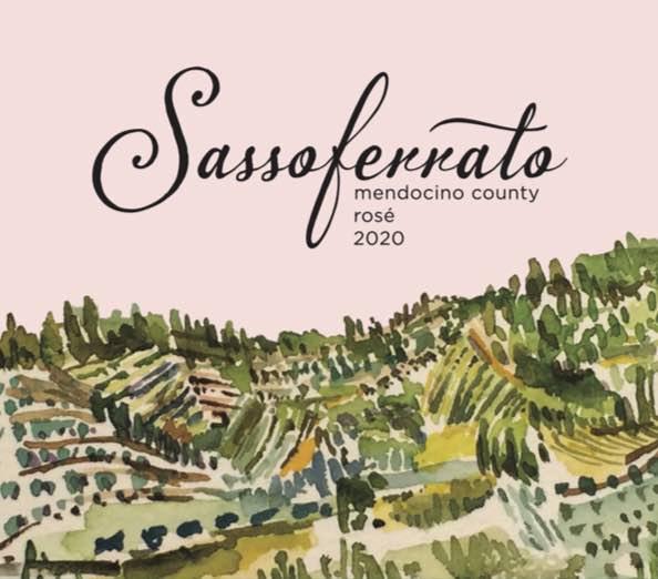 2020 Sassoferrato by Matt Smith Rosé Mendocino County