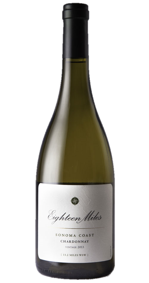 2013 Chardonnay Eighteen Miles