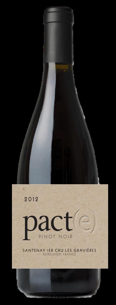 2012 Pinot Noir Pact(e) Santenay Premier Cru