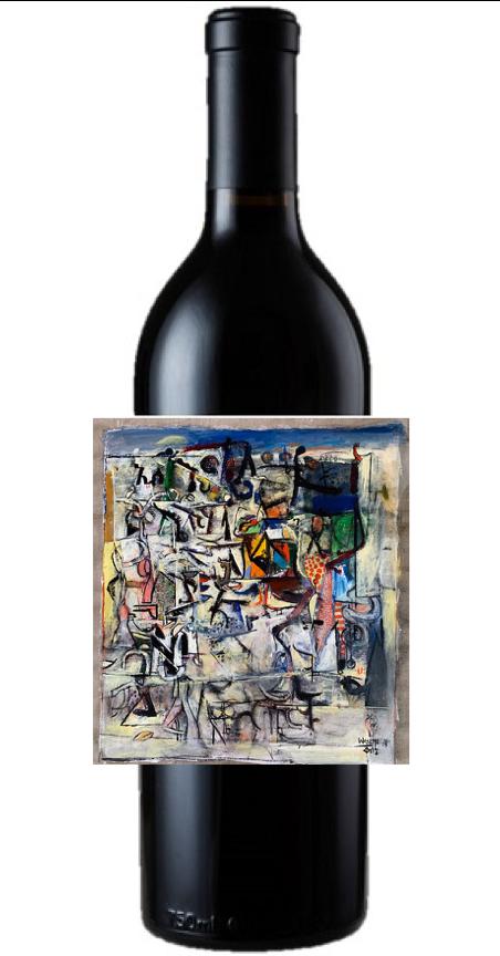 2017 Gallery Collection #4, American Jazz III, Sonoma Vly Zinfandel