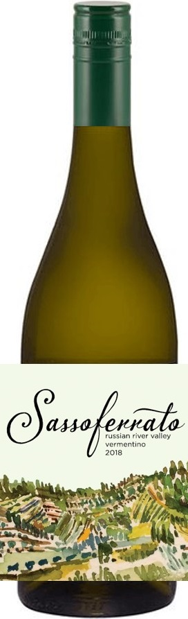 2018 Sassoferrato by Matt Smith Russian River Valley Vermentino