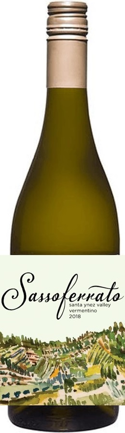 2018 Sassoferrato by Matt Smith Santa Ynez Valley Vermentino