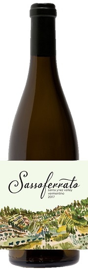 2017 Sassoferrato by Matt Smith Santa Ynez Valley Vermentino