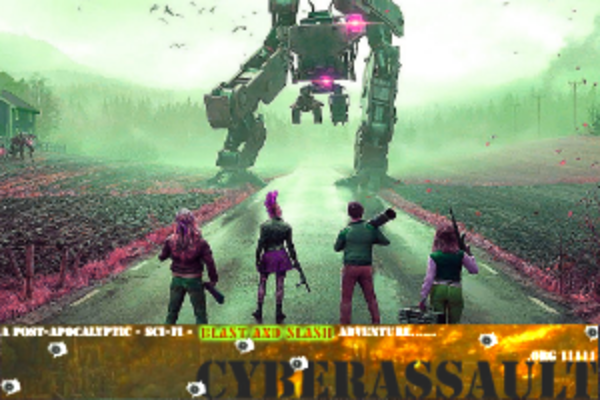 CyberASSAULT Cover Image