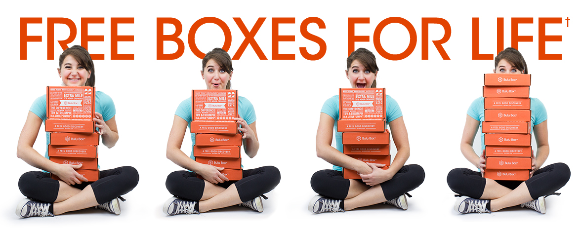 Free boxes for life!