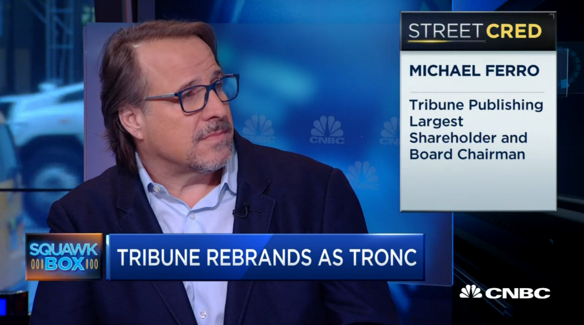 Michael Ferro on CNBC