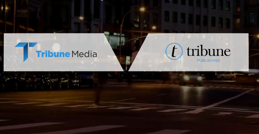 Tribune Media and Tribune Publishing