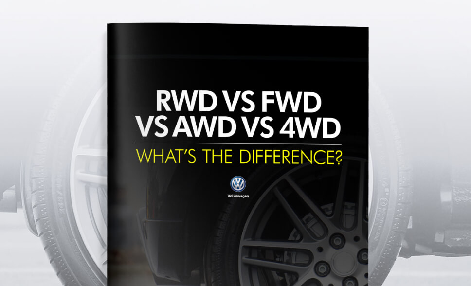 RWD vs FWD vs AWD vs 4WD