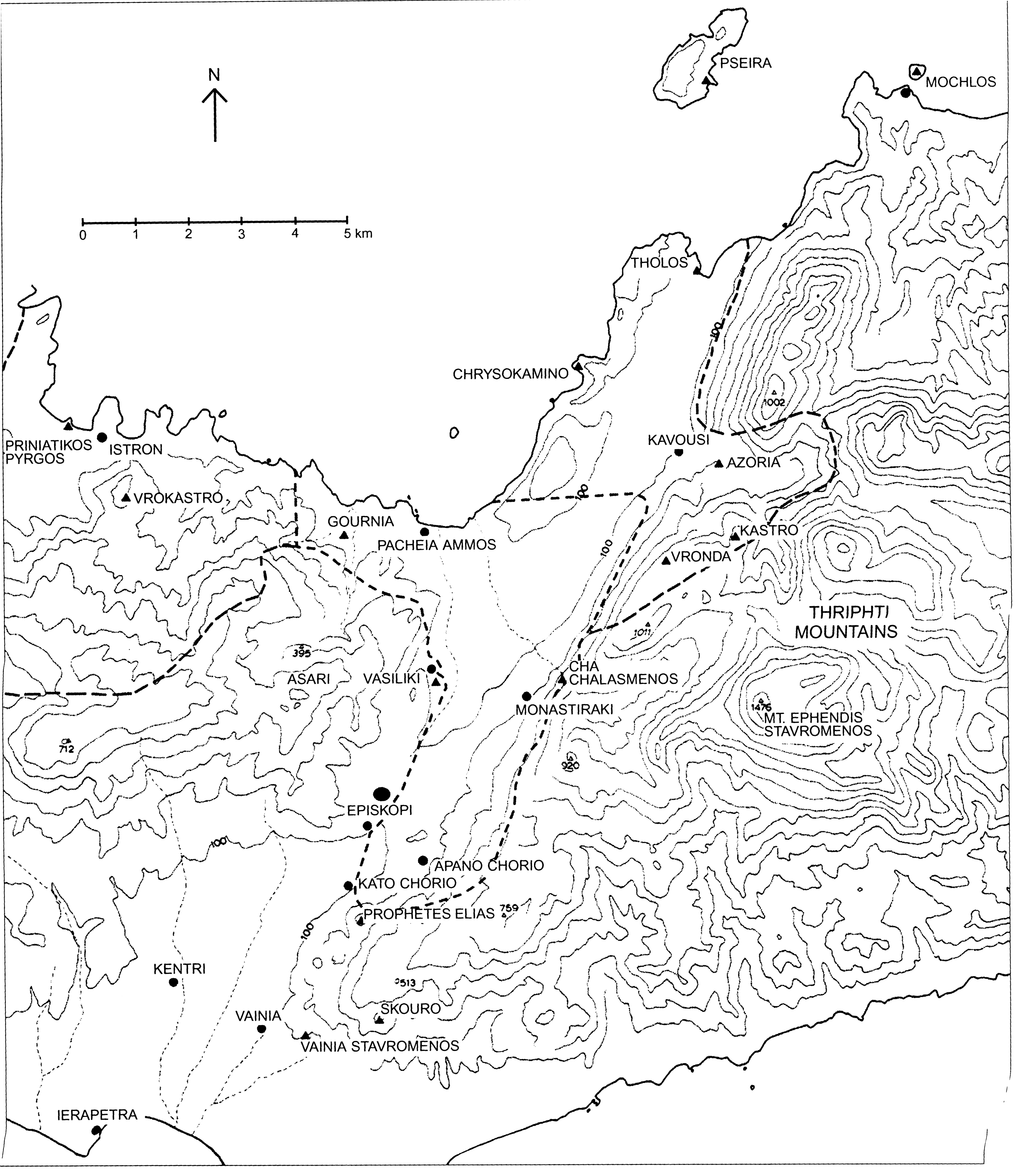 survey boundaries