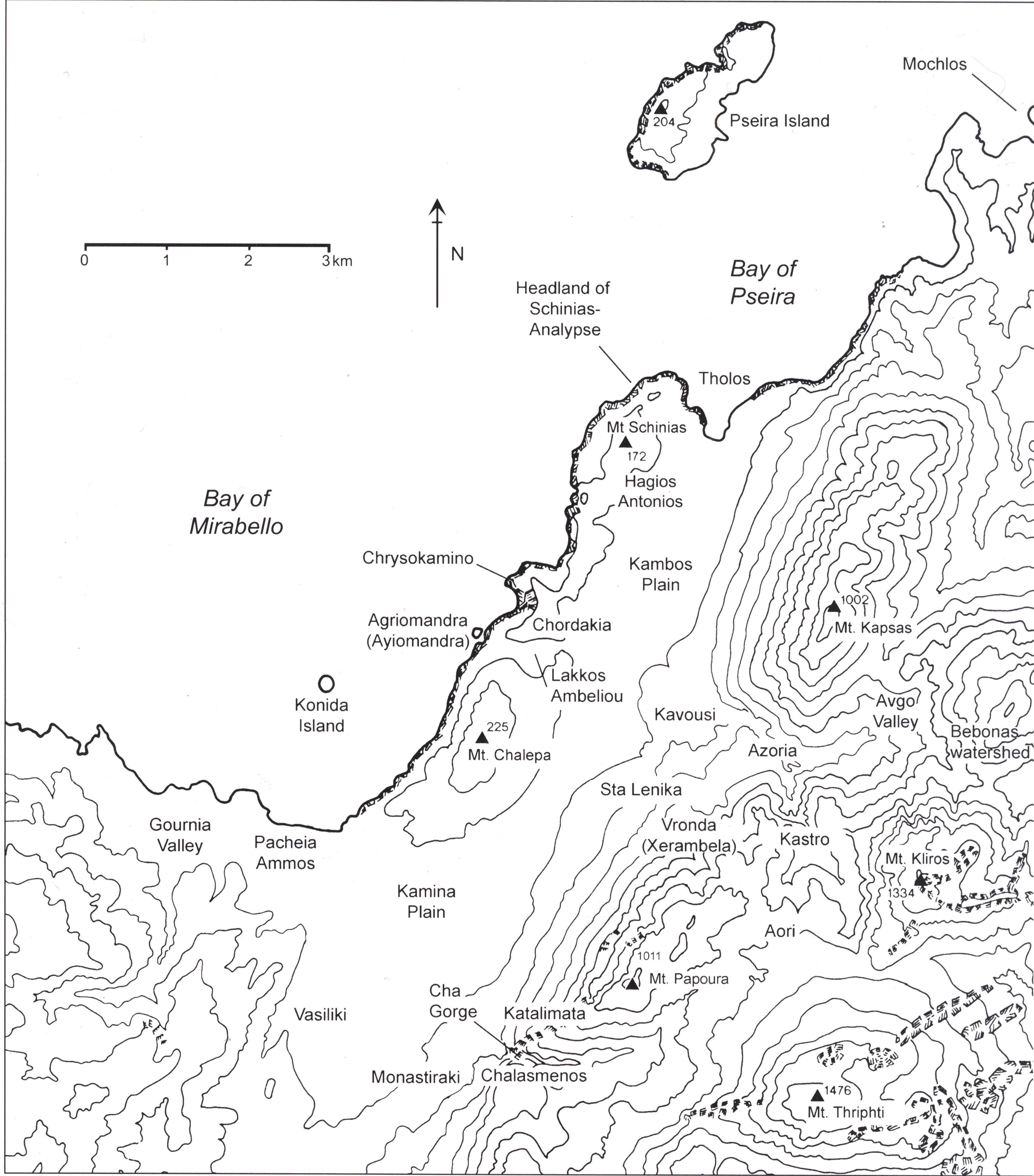 total survey area