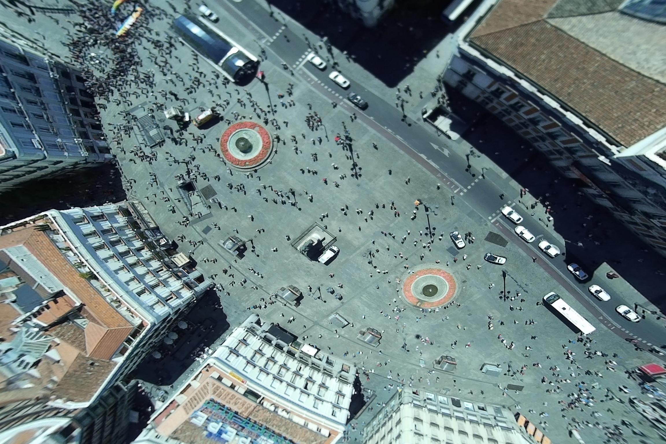 Puerta del Sol. Madrid. 17 mayo 2015