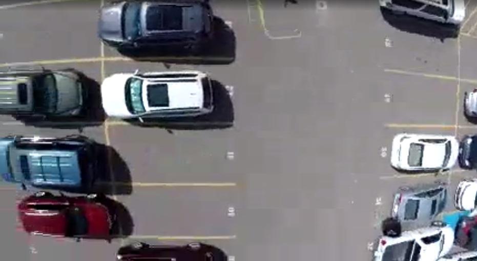 All Saints parking lot