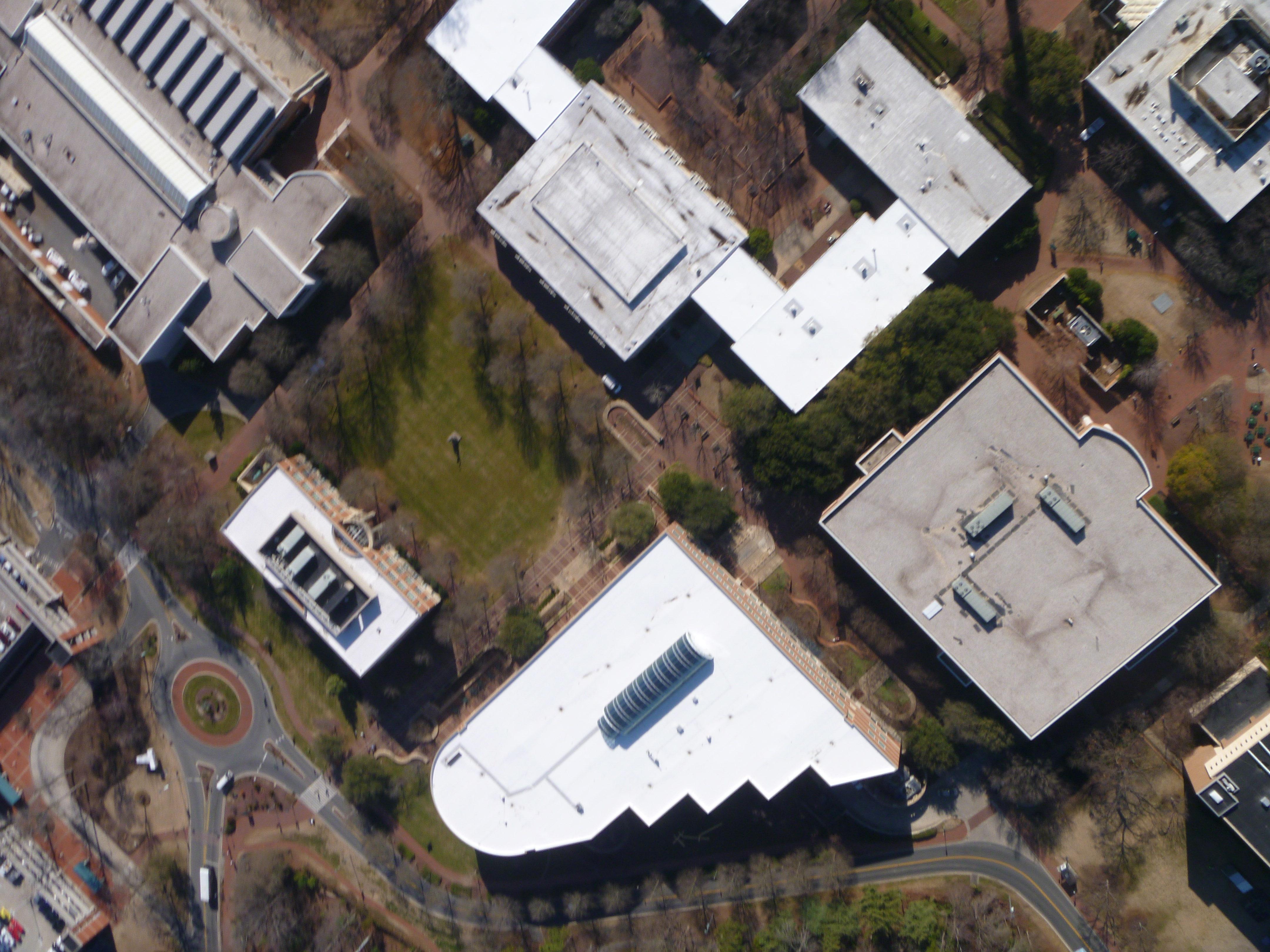 UNCC Campus map