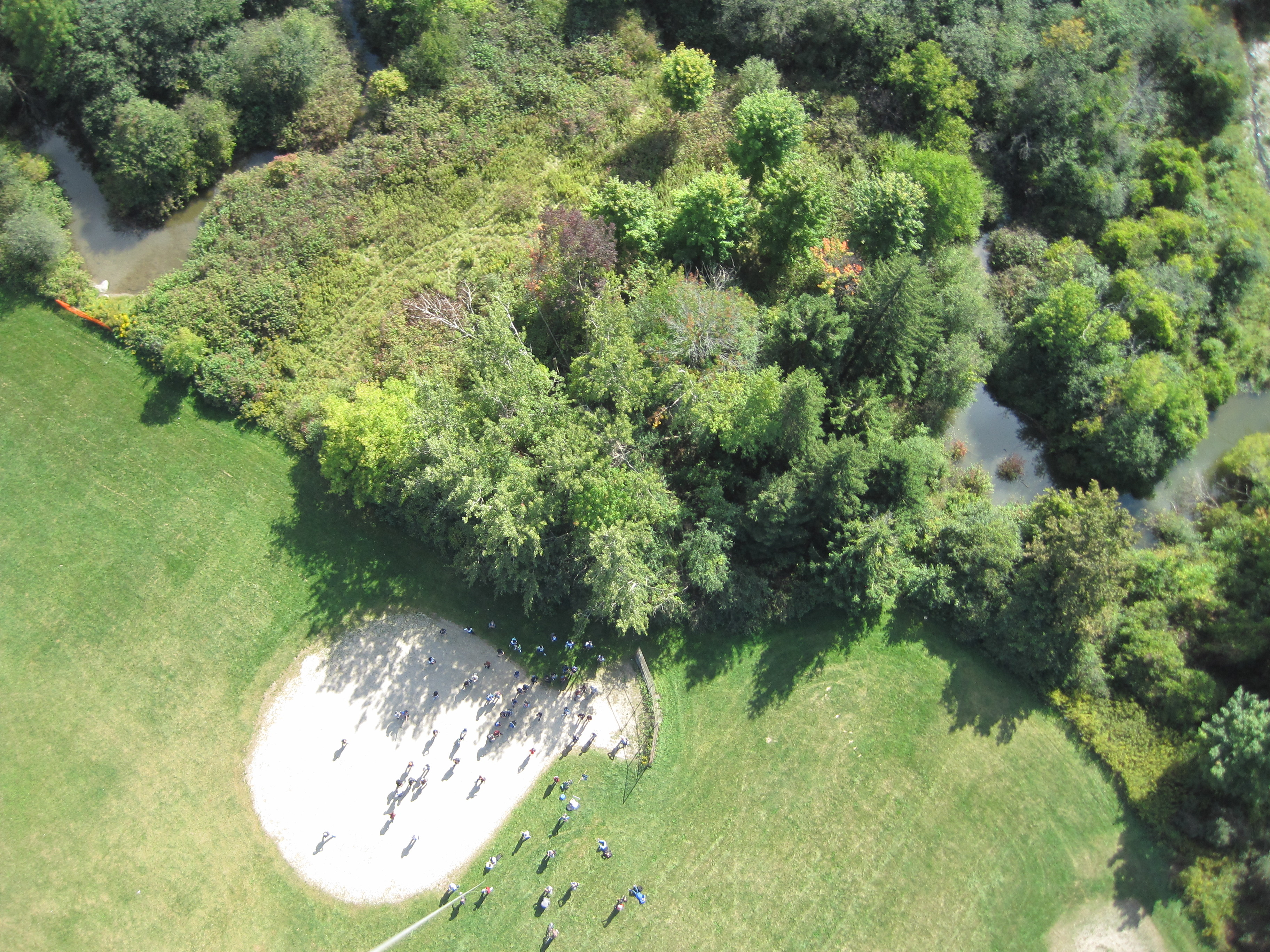 Georeferencing of Aerial Photos and Map Production (Balloon-acquired aerial photos)