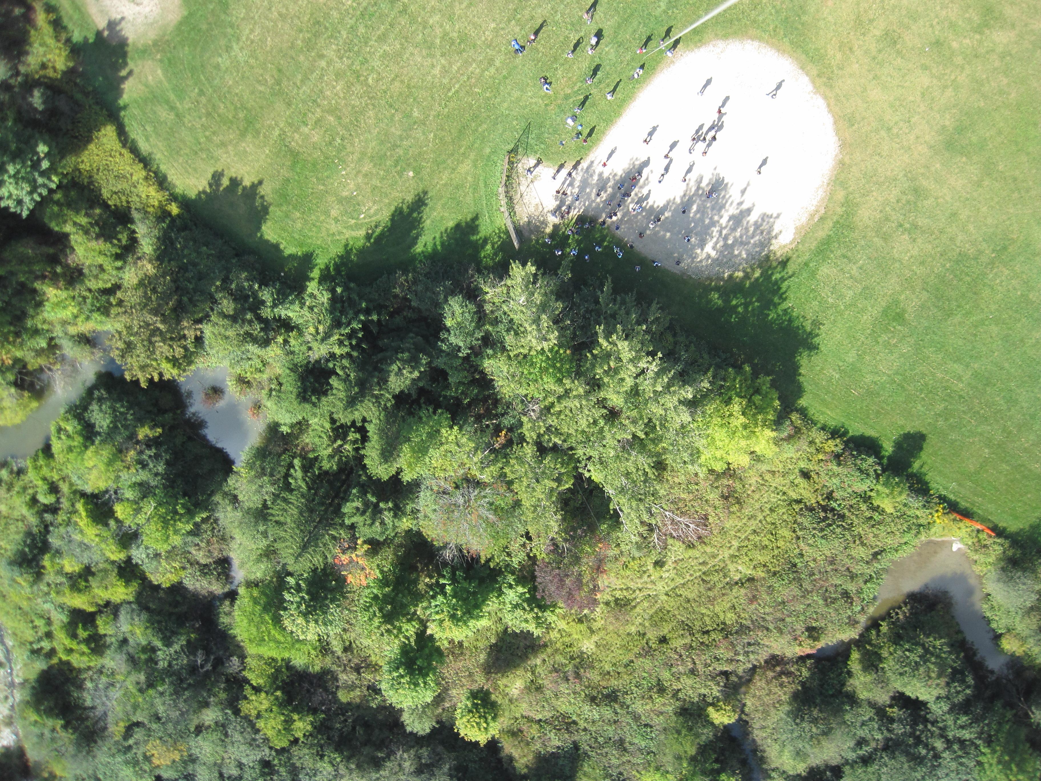 Georeferencing Aerial Photos Over UW Campus