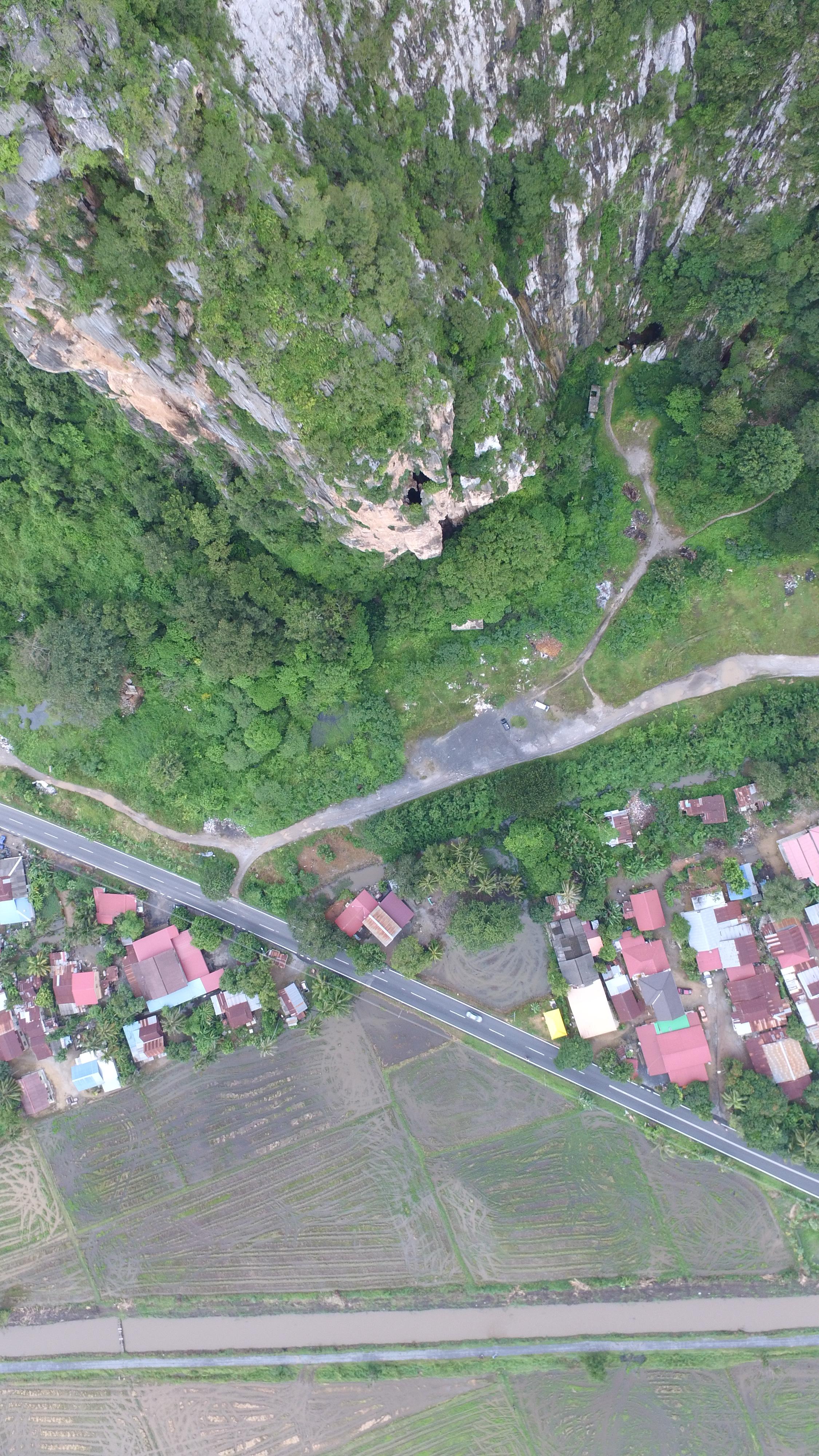 Gunung Keriang aerial photography