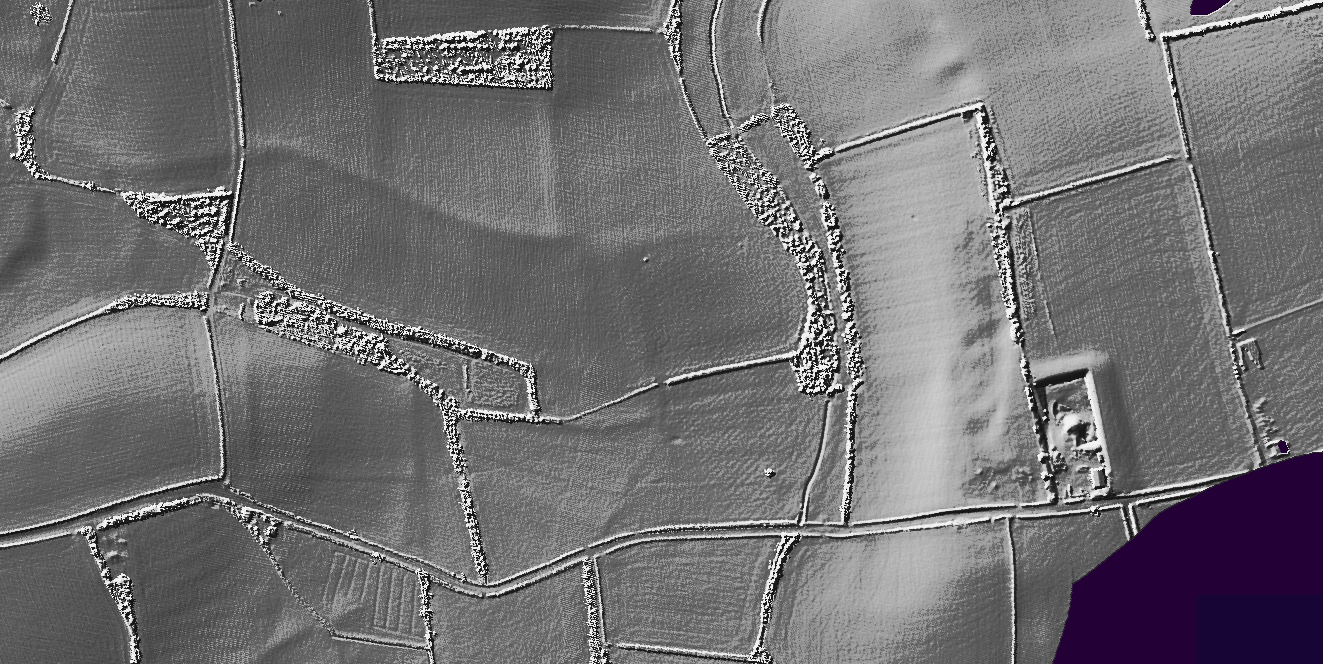 Whiteway Quarry LIDAR