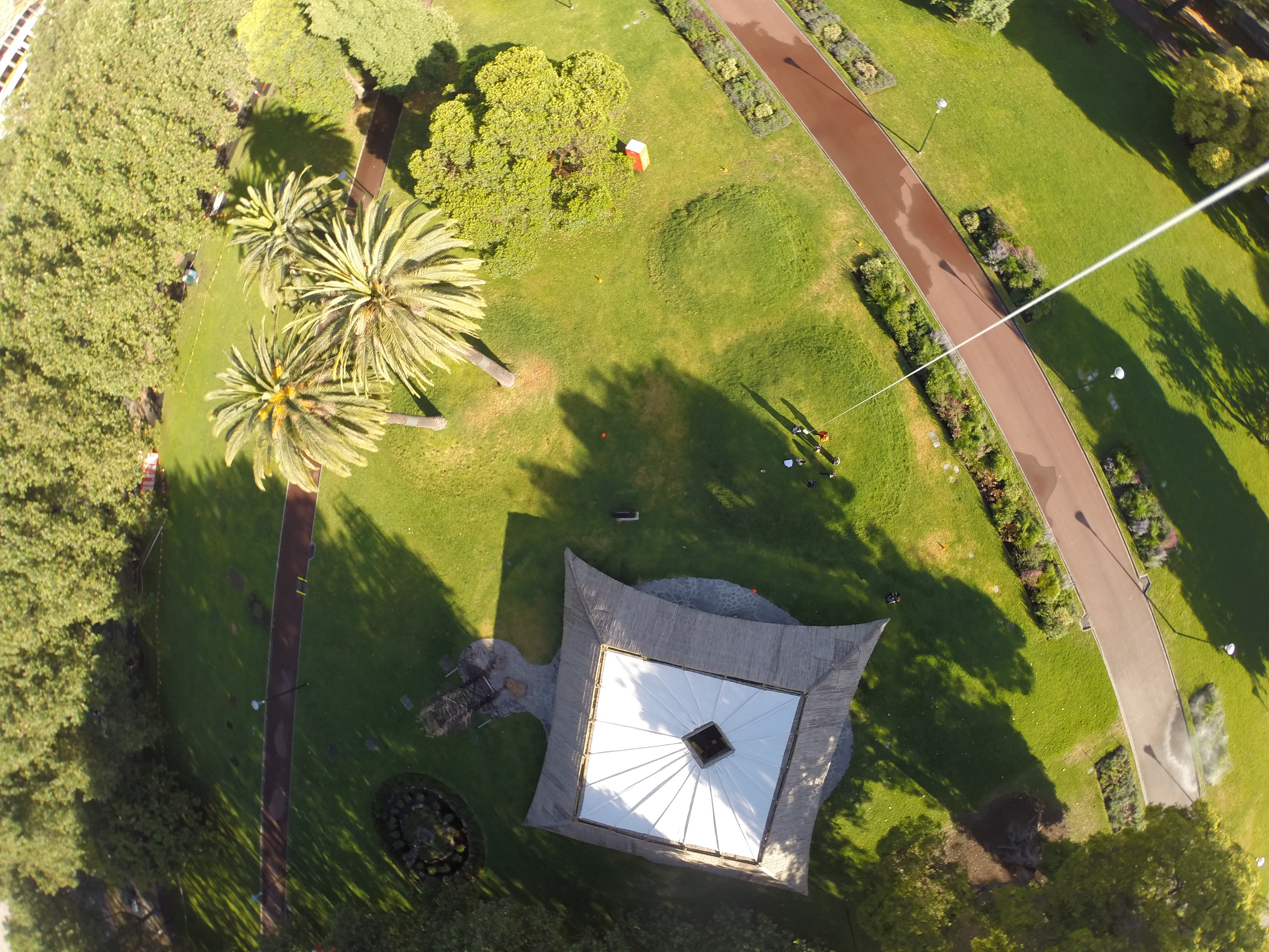 A balloon mapping event at MPavilion (Melbourne, Australia)