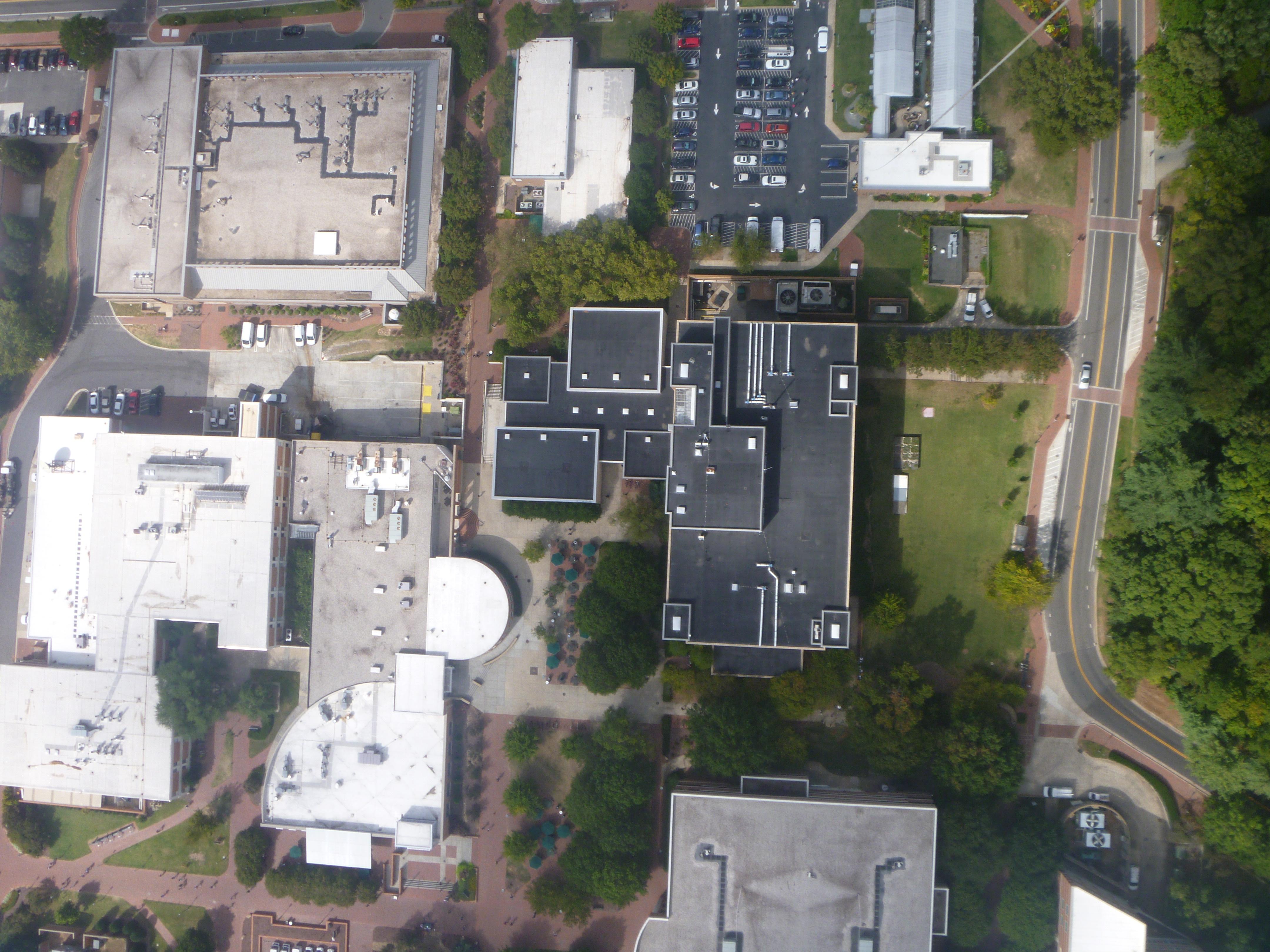 Map of UNCC campus