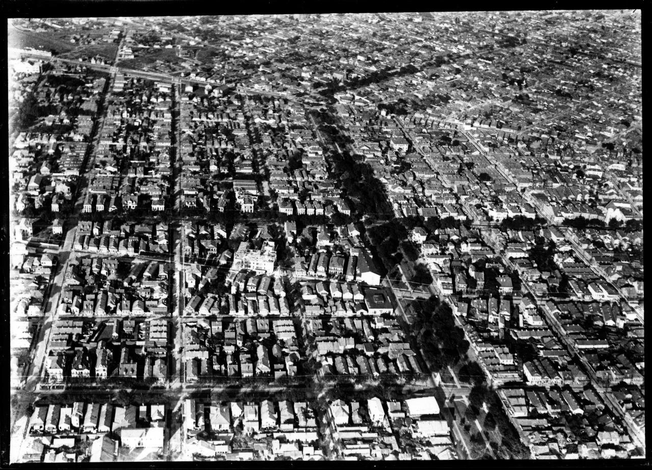 Claiborn aerial 1954