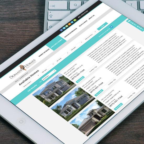 custom api and web application