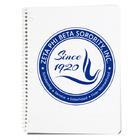 Small zpb spiral notebook
