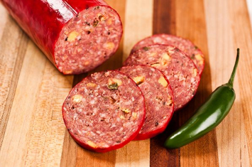Summer Sausage Cheese & Jalapeno