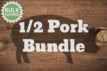 Half Pasture-raised Pork Deposit