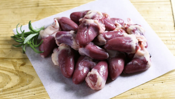 Pasture-raised Chicken hearts