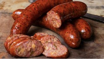 Pasture-raised Pork Smoked Sausage Links Jalapeno/Cheese