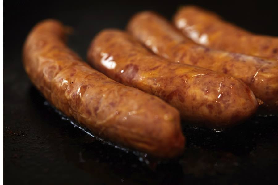 Bacon Cheddar Beef Links