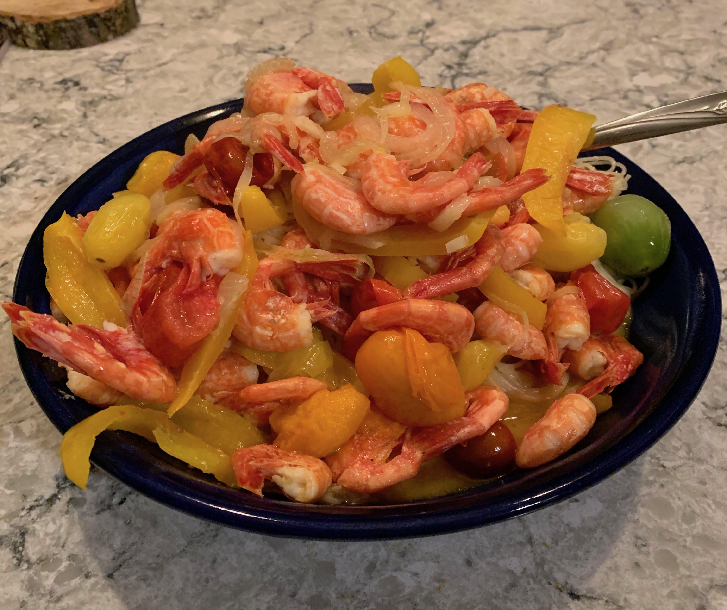 Denise's Shrimp Fettuccini