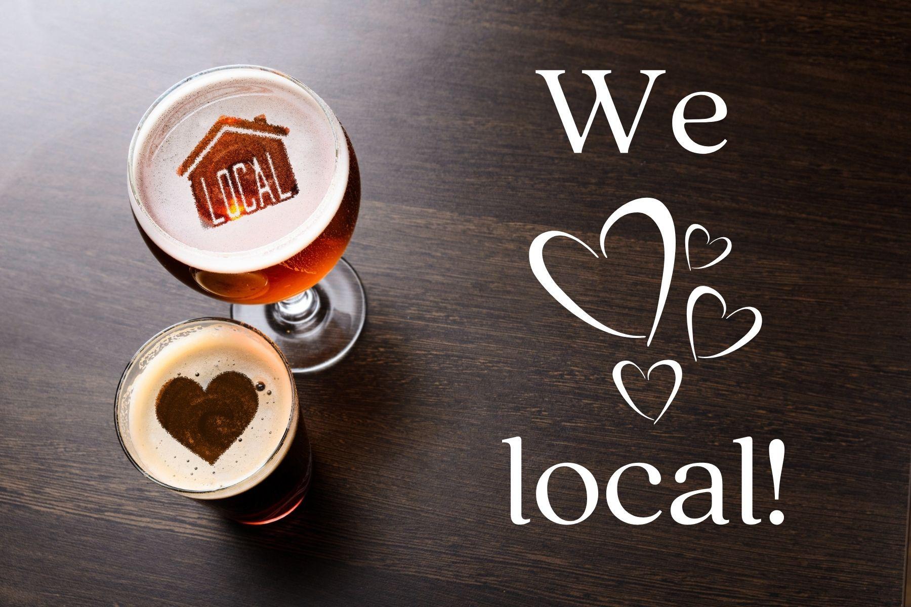 We Love Local!