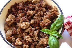 Loose Ground Spicy Italian Sausage