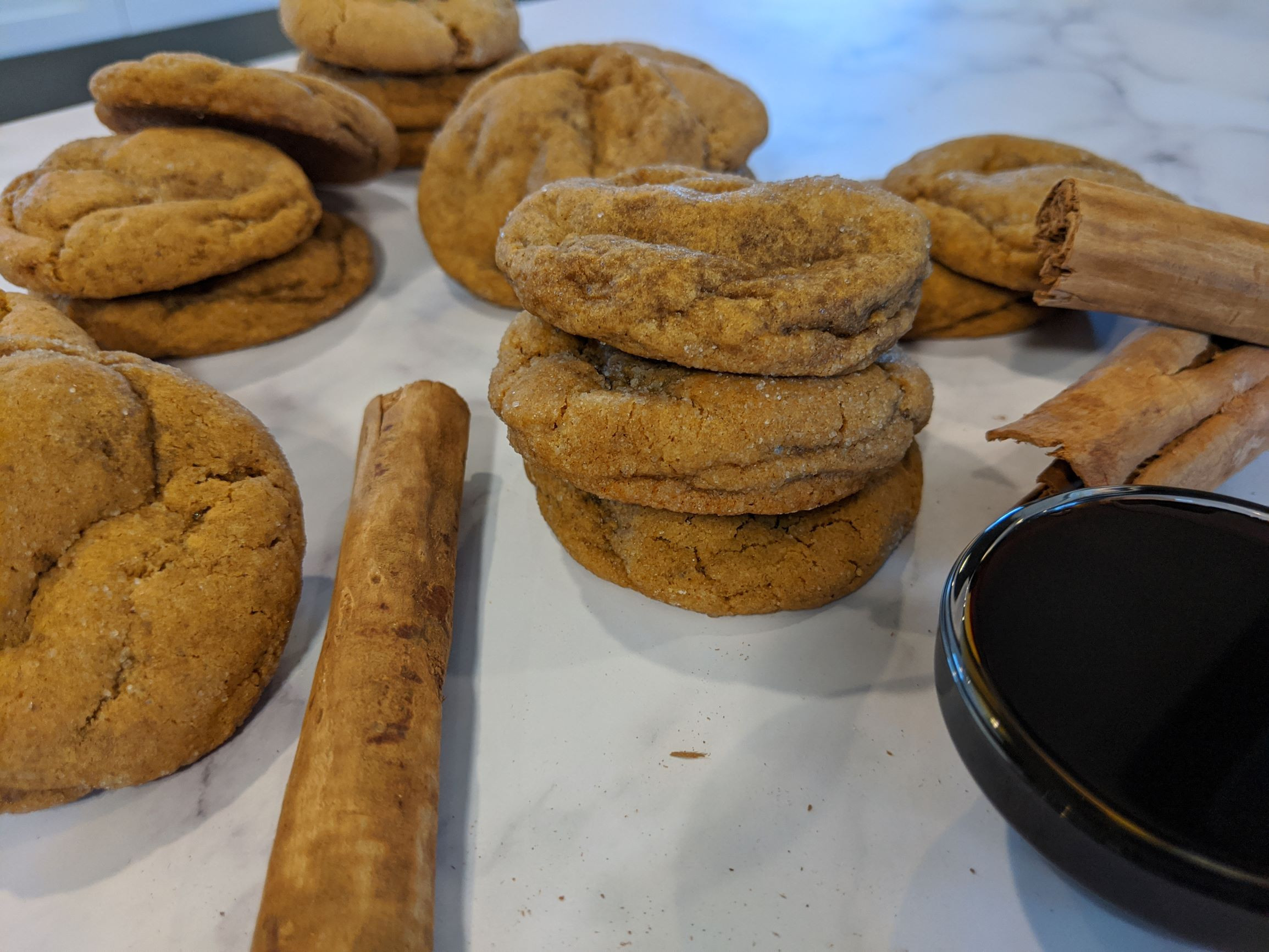Super Soft Ginger Cookies