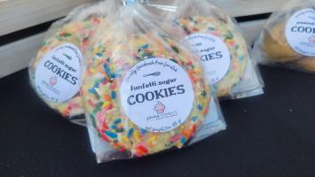 Small Batch Cookies - Funfetti Sugar