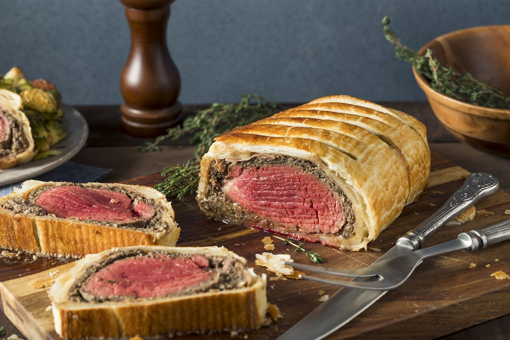 Adena Farms Beef Wellington