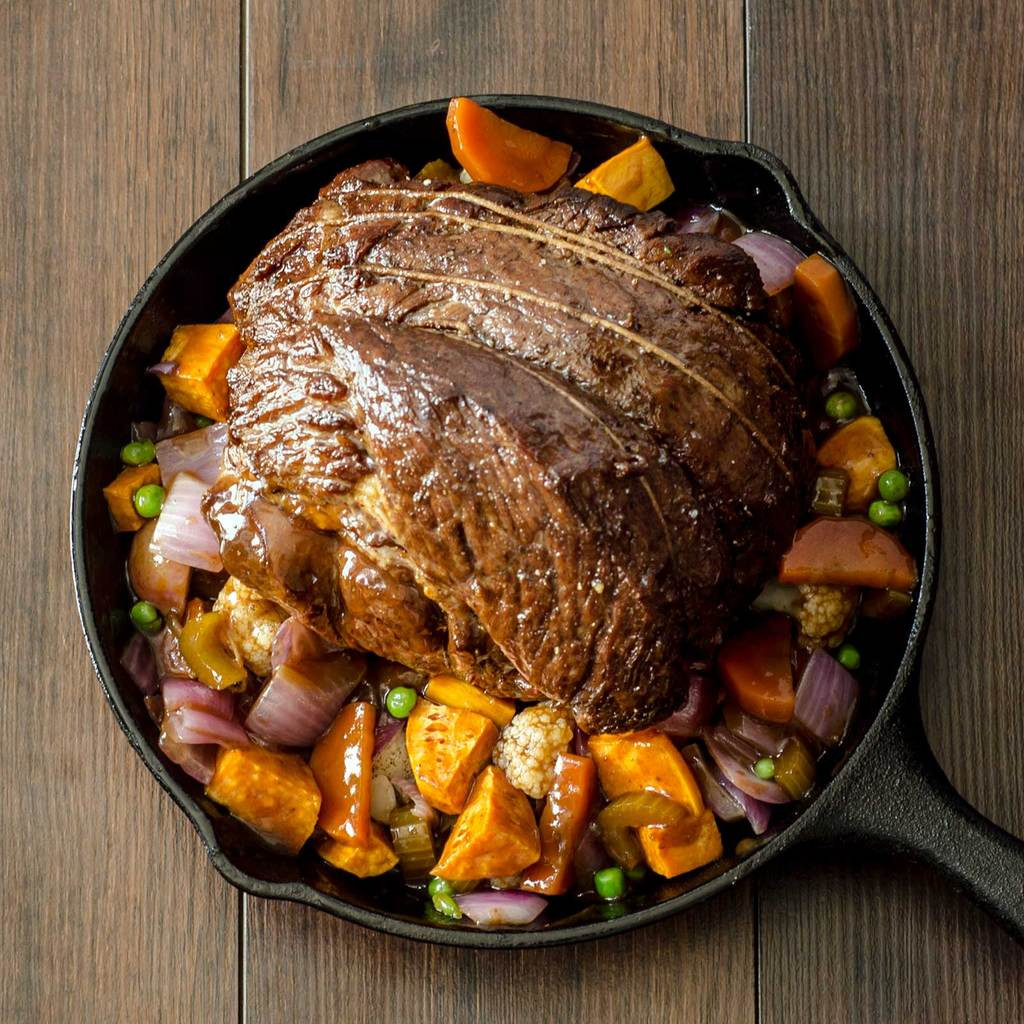 Chuck Roast Cooked