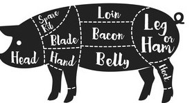 1/2 Pasture Raised Pork