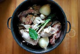 Chicken Stock (Meat and Bones)