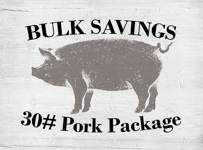 30# Pork Package