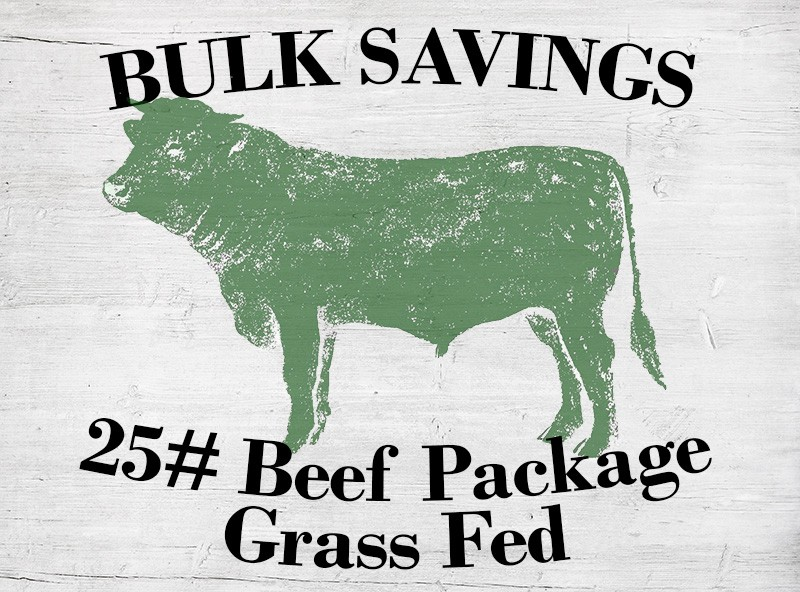 25# Beef Package - Grass Fed