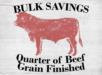 Quarter of Beef - Grain Finished