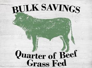 Quarter of Beef  - Grass Fed
