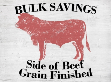 Side of Beef - Grain Finished