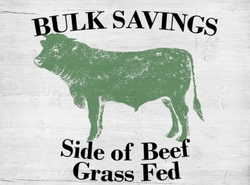 Side of Beef - Grass Fed