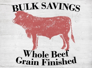 Whole Beef  - Grain Finished