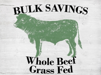 Whole Beef - Grass Fed